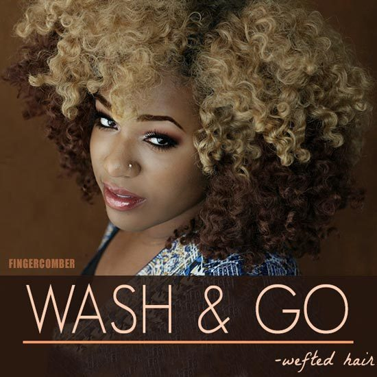 WASH & GO WEFTED HAIR