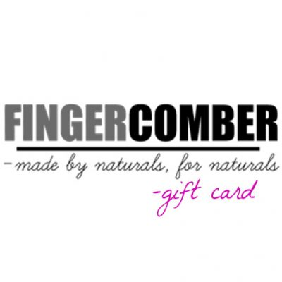 FINGERCOMBER giftcard