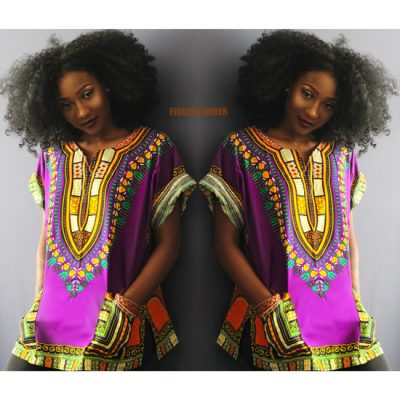 Thigh High Dashiki Haute Marrakesh