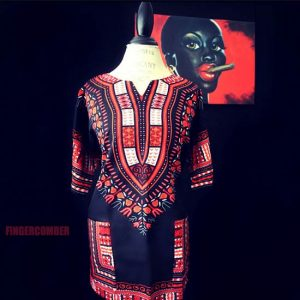 Thigh High Dashiki