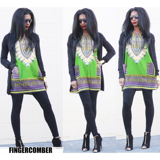 Dashiki Dress Fort Green