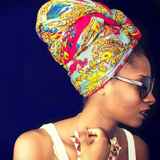 Afri-Glam Headwrap and Sarong-Various Colors