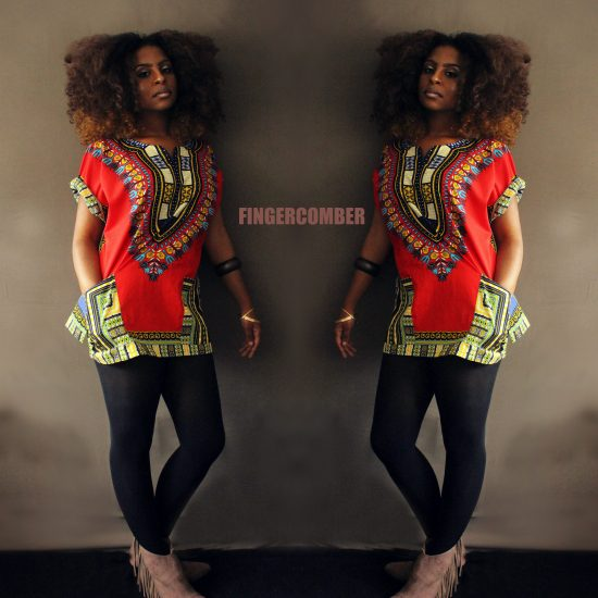 "THIGH HIGH DASHIKI in ""Indian Summer""!"
