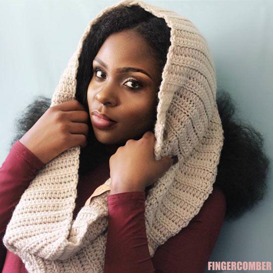 Big Hair Bonnet Shoulder Warmer Oat