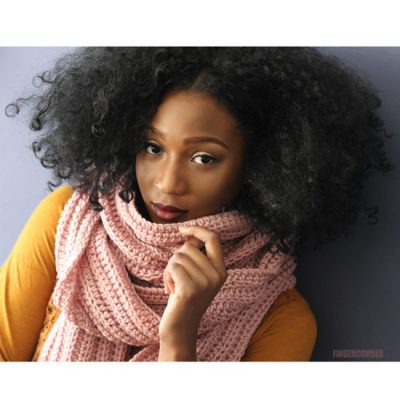 The Chillmark Mega Scarf in Blush