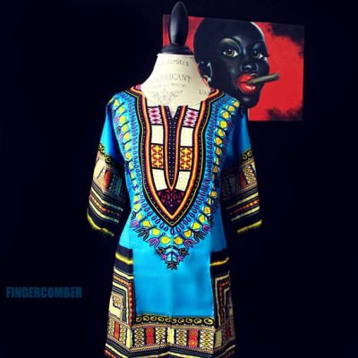 Thigh High Dashiki TEAL